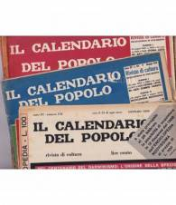 Il Calendario del Popolo. 1959. Annata completa.