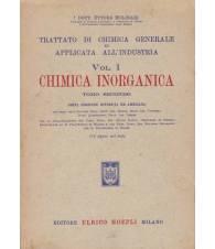 Trattato di chimica generale e applicata all'industria.I.Chimica inorganicaTo II