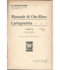 MANUALE DI OTORINOLARINGOIATRIA - Volume III - Orecchio