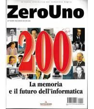 ZERO UNO: la memoria e il futuro dell'informatica. Rivista n.200 Settembre 1998