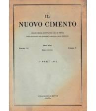 Il nuovo cimento. Vol. XI Serie nona N.3 Marzo 1954