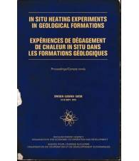 In situ heating experiments in geological formations