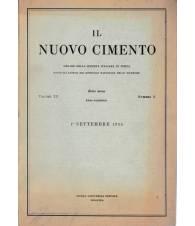 Il nuovo cimento. Vol. XII Serie nona N.3 Settembre 1954