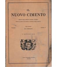 Il nuovo cimento. Vol. I Serie decima N.6 Giugno 1955