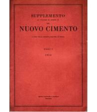 Supplemento al Vol. XI Serie nona del Nuovo Cimento N.3 1954