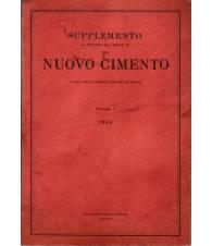 Supplemento al Vol. XII Serie nona del Nuovo Cimento N.1 1954