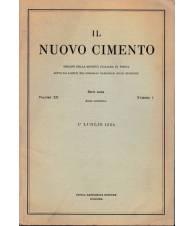 Il nuovo cimento. Vol. XII Serie nona N.1 Luglio 1954