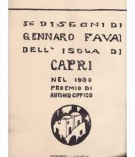 56 disegni dell'Isola di Capri