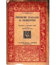 Prediche italiane ai Fiorentini. I - Novembre e Dicembre 1494