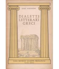 Dialetti letterari greci