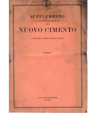 Supplemento al Volume VIII Serie IX del Nuovo Cimento N. 2 1951