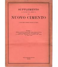 Supplemento al Volume VIII Serie IX del Nuovo Cimento N. 1 1951