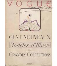 Vogue. Cent nouveaux Modéles d'Hiver des Grandes Collections. 15 Settembre 1921.
