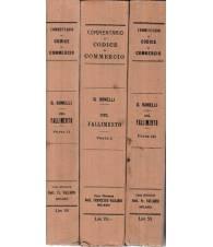 Commentario al codice di commercio. Del fallimento. Parte I-II-III
