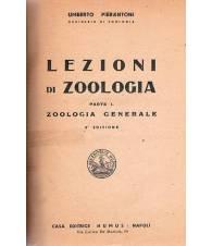 LEZIONI DI ZOOLOGIA. Parte I - Zoologia generale