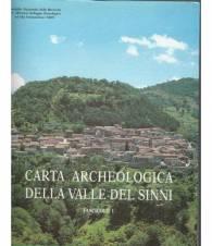 CARTA ARCHEOLOGICA DELLA VALLE DEI SINNI - Fascicolo 1