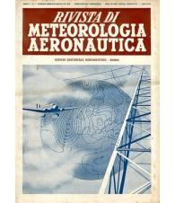 Rivista di Meteorologia aeronautica - Anno V n.1-2-3-4 anno 1941