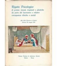RIGETTO PSICOLOGICO DI PROTESI, INNESTI, TRAPIANTI E PLASTICHE
