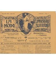 La Moda Universale Butterick. Gennaio 1912.