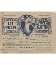 La Moda Universale Butterick. Aprile 1912.