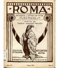 Roma - rivista di studi e di vita romana Anno VII Num. 6 Giugno 1929