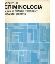 Appunti di criminologia