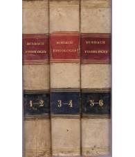 Trattato di fisiologia. I. II. III. (1-2, 3-4, 5-6)