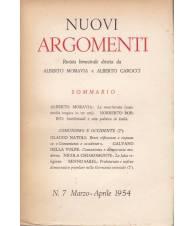 Nuovi Argomenti. N.7. Marzo-Aprile 1954.