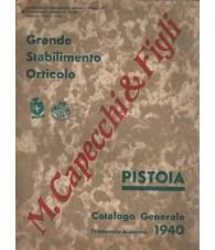 GRANDE STABILIMENTO ORTICOLO M. CAPECCHI E FIGLI - Catalogo generale 1940