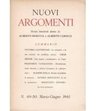 Nuovi Argomenti. N.49-50. Marzo-Giugno 1961.