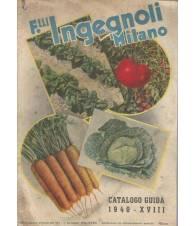 F.LLI INGEGNOLI MILANO CATALOGO-GUIDA 1940