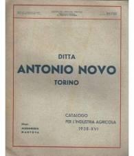 DITTA ANTONIO NOVO TORINO CATALOGO PER L'INDUSTRIA AGRICOLA