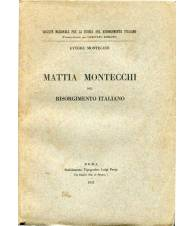 Mattia Montecchi nel Risorgimento italiano