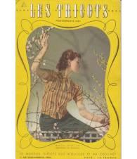 Les Tricots. Supplement au `Jardin des Modes`. Primavera-Estate 1937.