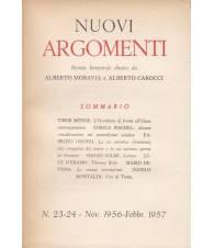Nuovi Argomenti. N.23-24. Novembre 1956-Febbraio 1957.