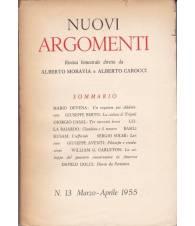 Nuovi Argomenti. N.13. Marzo-Aprile 1955.
