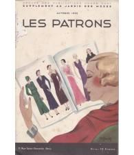 Les Patrons. Supplement au `Jardin des Modes`. Autunno 1932.
