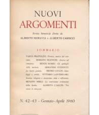 Nuovi Argomenti. N.42-43. Gennaio-Aprile 1960.