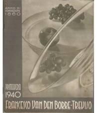 FRANCESCO VAN DEN BORRE - TREVISO PRIMAVERA 1940