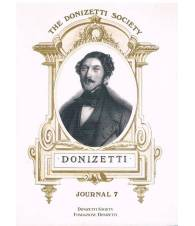 The Donizetti Society Journal Number 7