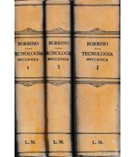 Tecnologia Meccanica generale e dell'automobile - 3 volumi