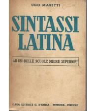 Sintassi latina ad uso delle scuole medie superiori
