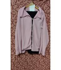 Giacca rosa acetata tag.48