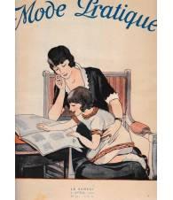 Mode Pratique. 5 Apr. 1924 N° 14