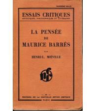 La pensée de Maurice Barrès
