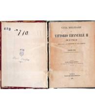 Vita militare di Vittorio Emanuele II re d'Italia