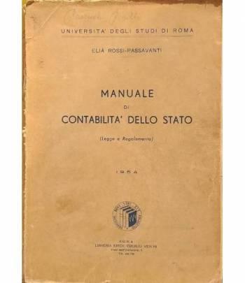Manuale di contabilità dello stato (Leggi e Regolamento)