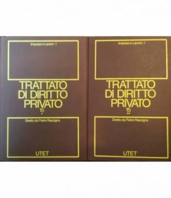 Trattato di diritto privato. 15. Impresa e lavoro. Tomo I. I. II.