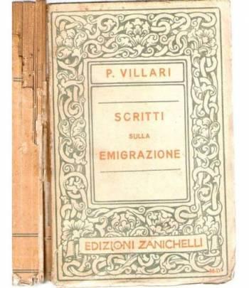 Scritti sulla emigrazione  e sopra altri argomenti vari