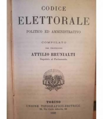 Codice elettorale politico ed amministrativo